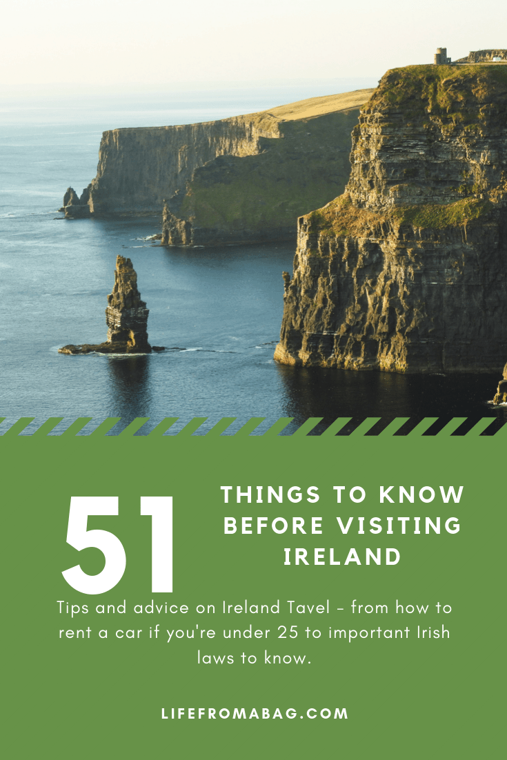 Things to know before visiting ireland