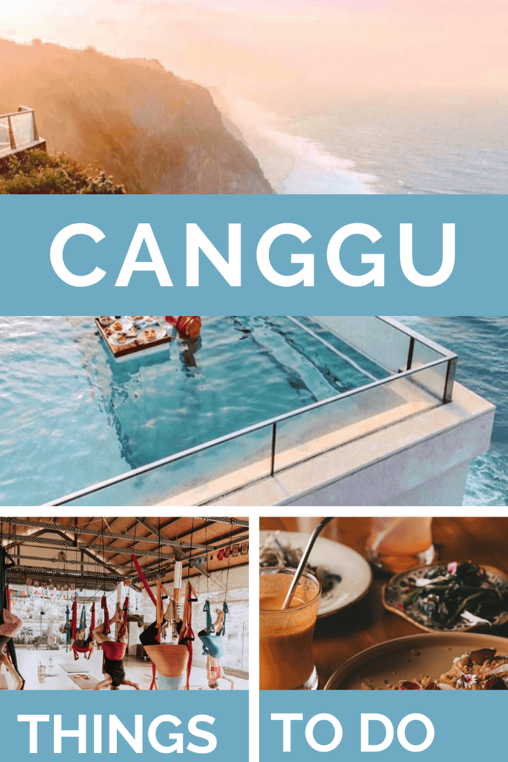 Places to go in Canggu