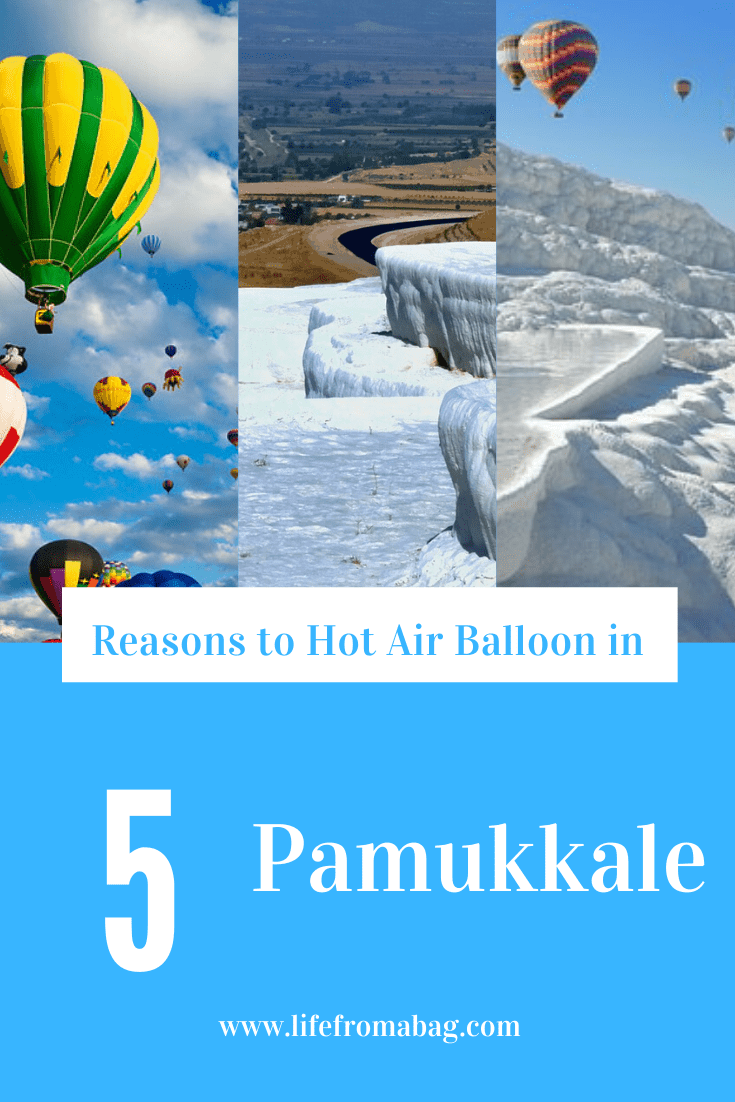 Hot Air Balloon in Pamukkale