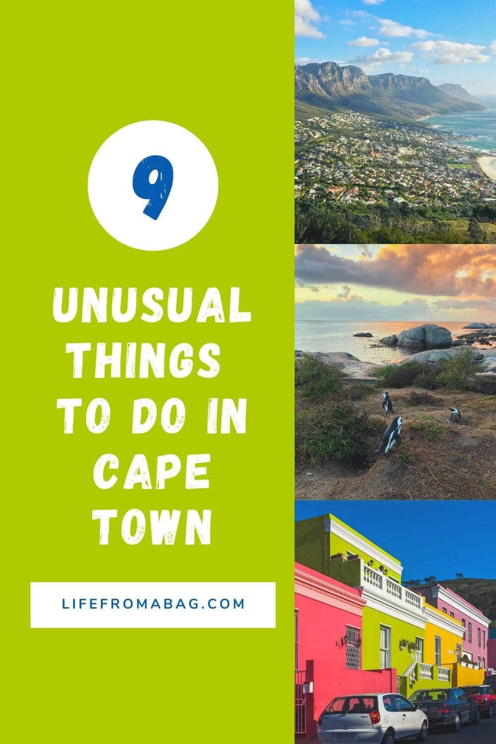 Unusual things to do in. Cape Town